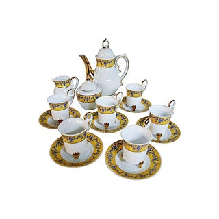 Porcelain Coffee Set for Six