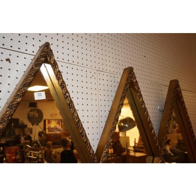 Art Deco Diamond Wall Mirror - Image 4 of 5