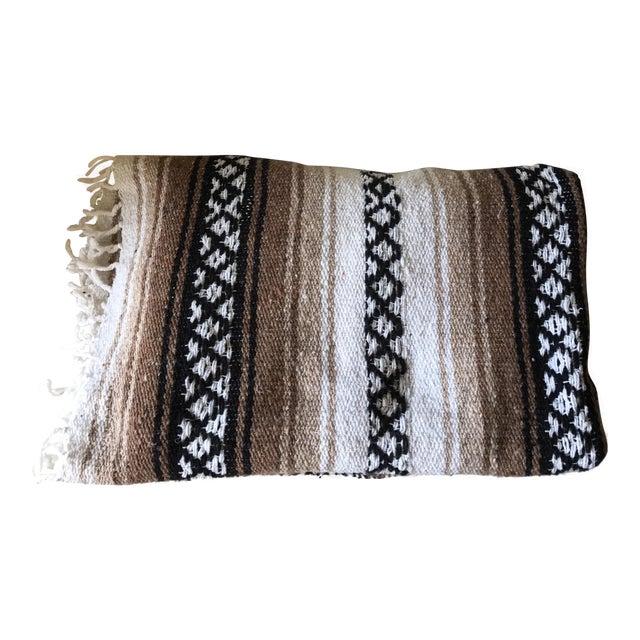 Mexican Boho Serape Blanket - Image 1 of 7