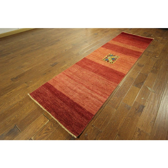 Modern Collection Gabbeh Runner - 2′9″ × 10′ - Image 3 of 9