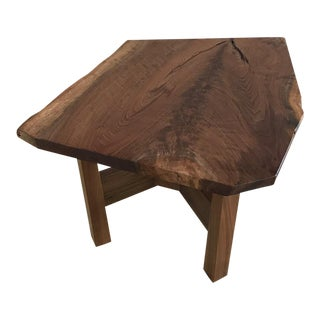 Solid California Walnut Stool