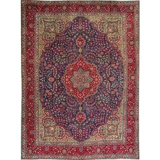 """Apadana - Vintage Persian Tabriz Rug, 9'7"""" x 13'4"""""""