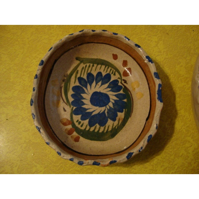 Mexican Tlaquepaque Nesting Bowls - Set of Four - Image 6 of 10
