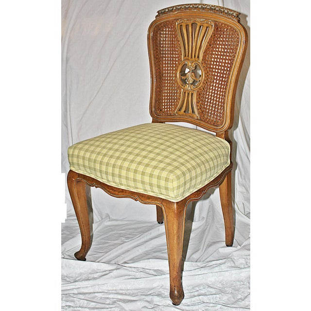 Swedish Gustavian Dining Chairs - Set of 4 - Image 3 of 9