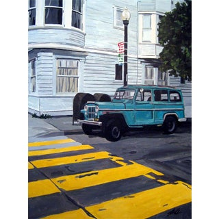 """""""Walk"""" - Painting Giclee by Josh Moulton"""