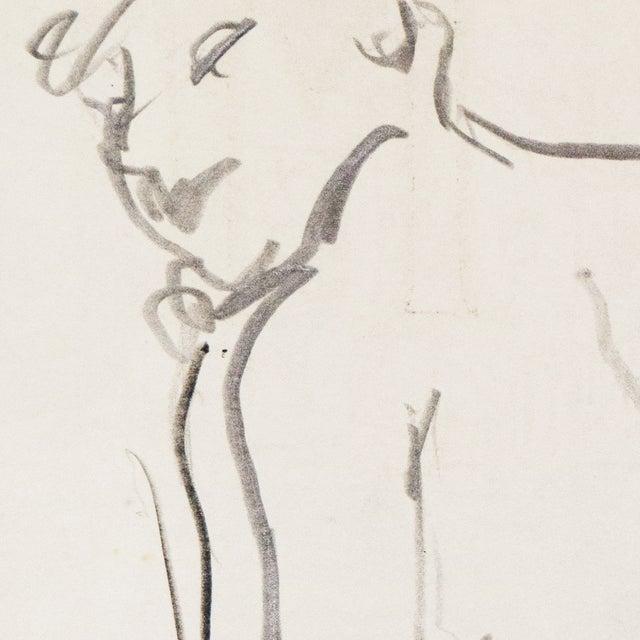 1950s Figural Study by Victor DI Gesu - Image 3 of 5