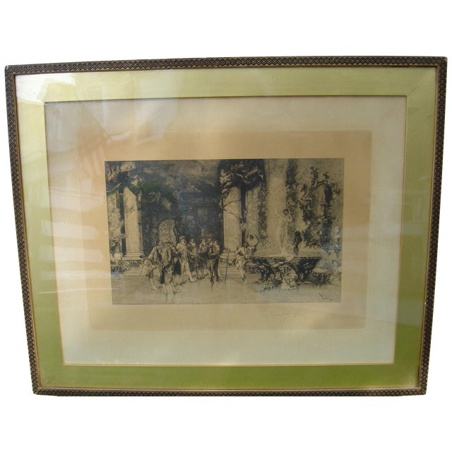 19th C Engraving - Signed/Numbered - Image 1 of 4