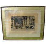 Image of 19th C Engraving - Signed/Numbered