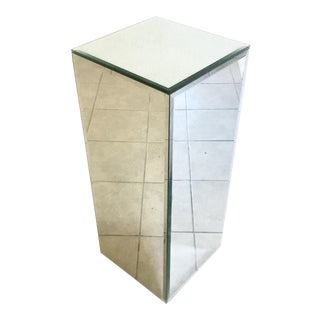 Beveled Mirror Art Stand