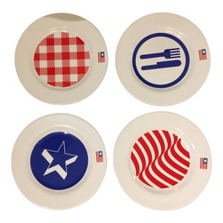 Expo 2015 Plates Set - Set of 4