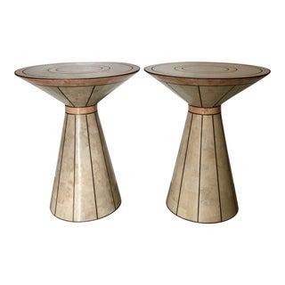 Maitland Smith Side Tables - A Pair