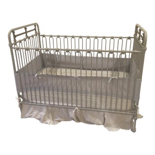 Restoration Hardware Iron Crib