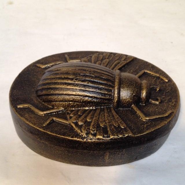 Egyptian Scarab Beetle Box Chairish