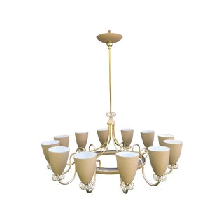 Lightolier 12 Light Ballerina Chandelier