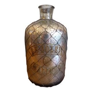 Decorative Mercury Glass Jug