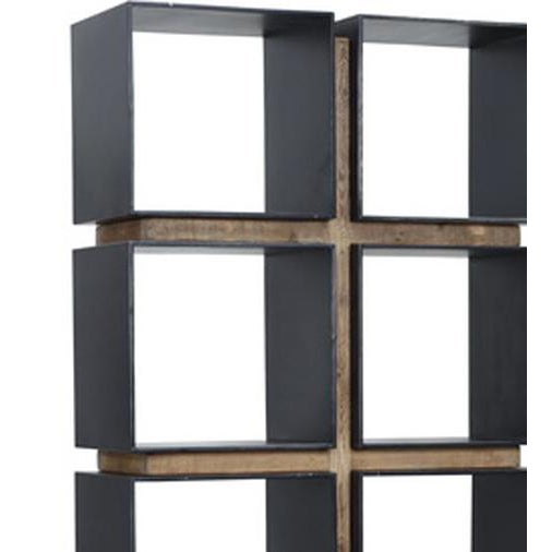 Image of Steel Cubes Bookcase