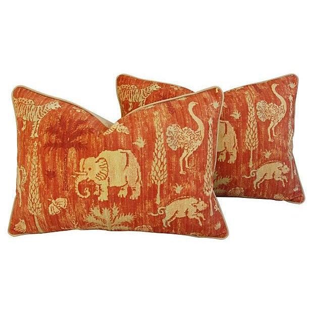 Custom Travers Old World Byzantine Pillows - Pair - Image 1 of 7