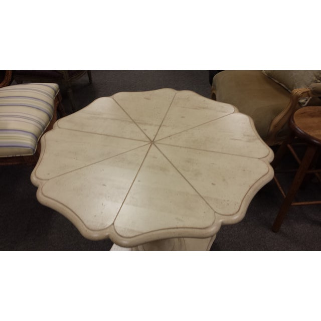Image of Harden Lily Pad Pedestal Side Table
