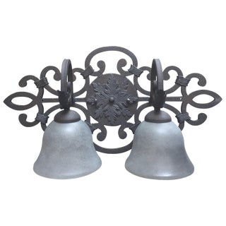 Iron 2-Light Wall Fixture