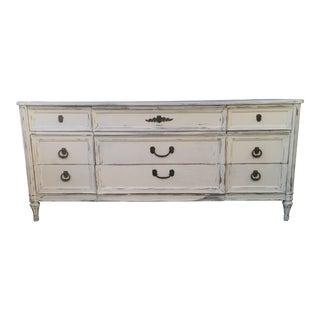 Henredon Shabby Chic French Dresser