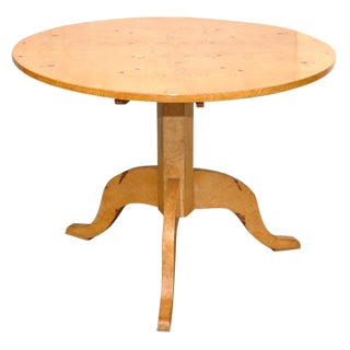 Biedermeier Style Center Table