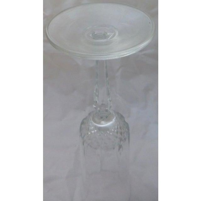 Vintage French Champagne Flutes - Set of 6 - Image 6 of 7