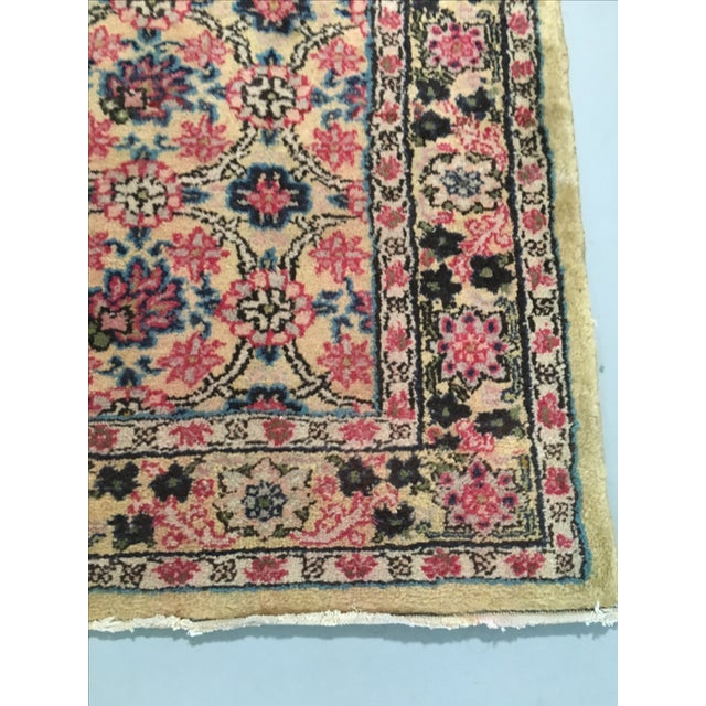 Vintage Egyptian Hand-Tied Wool Rug - 3′9″ × 6′8″ - Image 3 of 6
