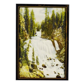 Haynes Yellowstone National Park Kepler Cascade Print