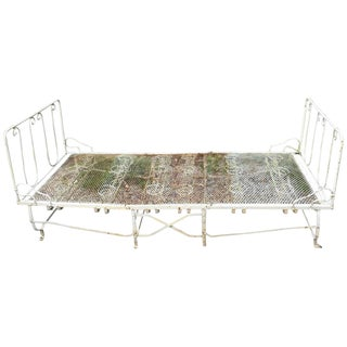 19th Century French Folding Campaign Bed