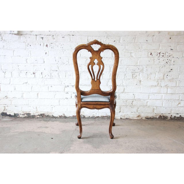 French Provincial Dining Chairs by Baker Furniture - Set of 12 - Image 9 of 11
