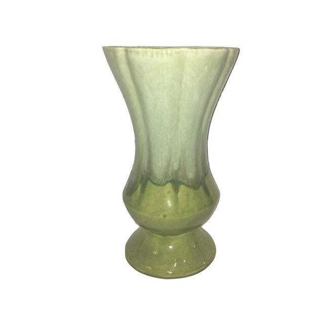 Image of Green Glazed Vase