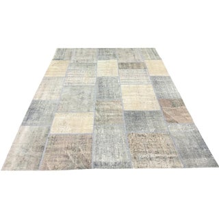 "Patchwork Turkish Rug - 5'6"" x 7'9"""