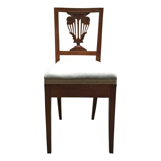 Image of Vintage Diminutive Hepplewhite-Style Chairs - Pair