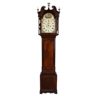 Antique American Tall Case Clock