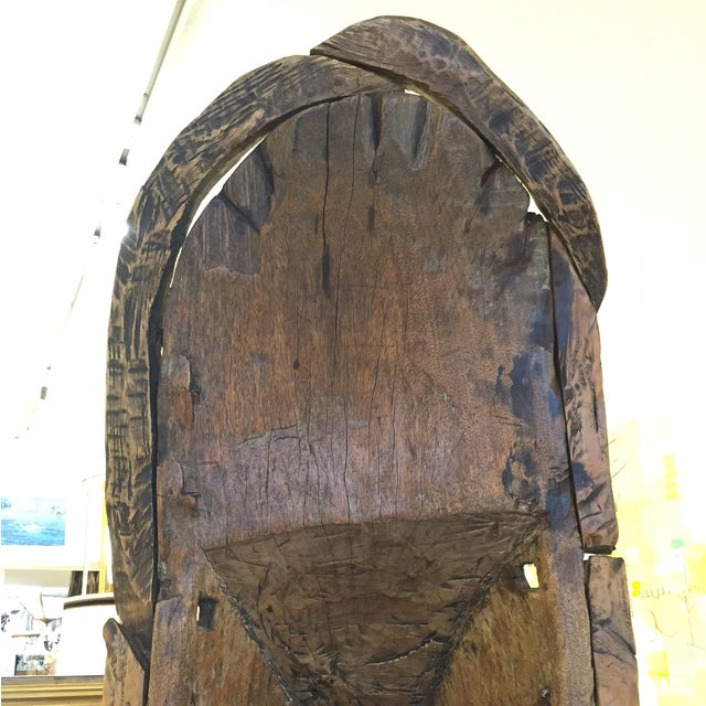 Image of African Canoe Display Case