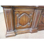 Image of Heritage French Country Monumental Walnut Bookcase