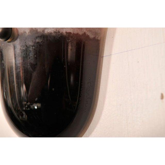 Barbini Art Glass Wall Sconces - Image 5 of 5