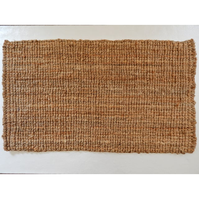 Natural Woven Jute Rug - 2′11″ × 5′ - Image 2 of 3
