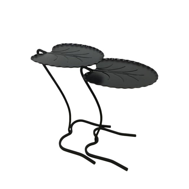 Salterini Lily Pad Nesting Tables - a Pair - Image 1 of 6