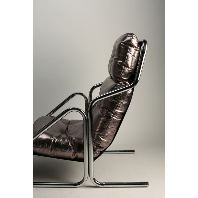 1970s Jerry Johnson Lounger - Image 3 of 4