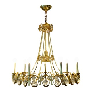 Global Views Polished Brass 7 Light Chandelier