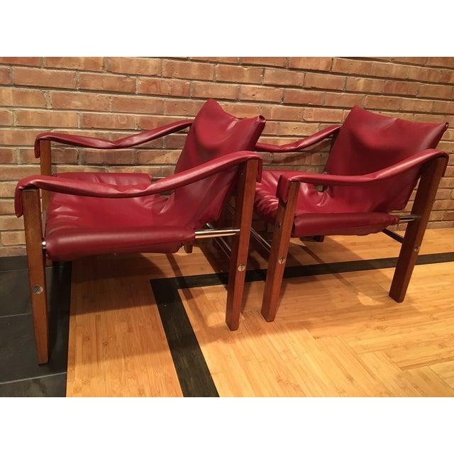 Arkana Safari Chairs by Maurice Burke - A Pair - Image 3 of 7