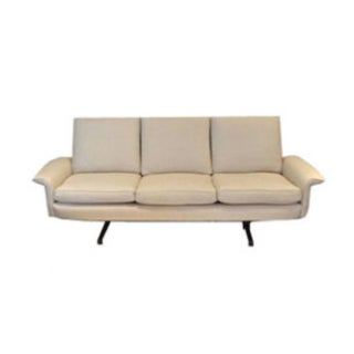 Vintage Danish Modern 3-Seat Sofa