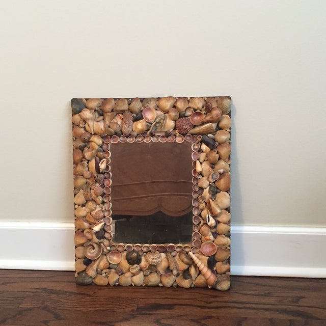 Image of Vintage Shell Mirror