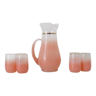 Pink Blendo Serving Set - Set of 7