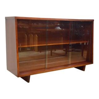 Mid-Century Modern Mahogany Bookcase