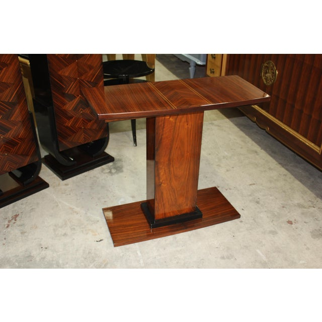 French Art Deco Console Tables - A Pair - Image 8 of 10