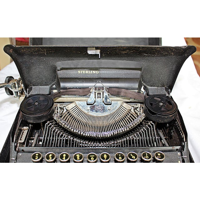 Smith-Corona Sterling Typewriter - Image 7 of 10