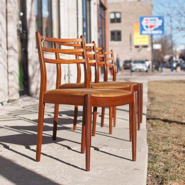 Image of Danish Modern Dining Chairs, Kofod Larsen - 4
