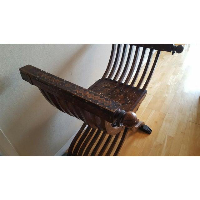 Savonarola Chair - Image 4 of 5